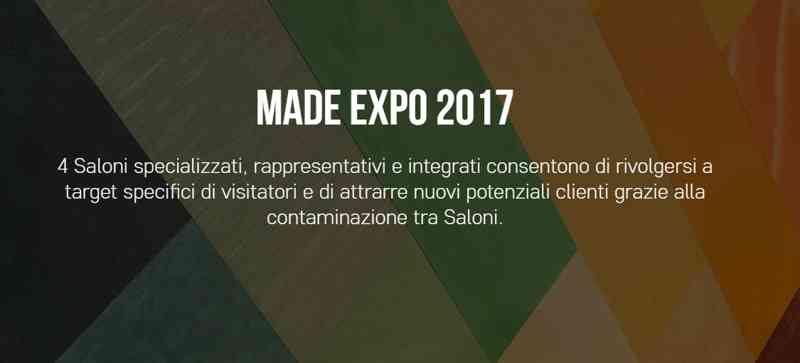 A Milano torna la più grande Fiera dell'edilizia: Made Expo 2017